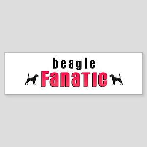 Beagle Fanatic Bumper Sticker