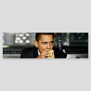 Barack Obama Coffee Mug Sticker (Bumper)