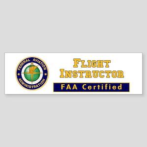 Flight Instructor Sticker (Bumper)