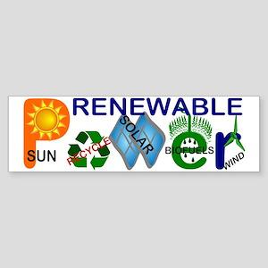 renewablepowerlg Bumper Sticker