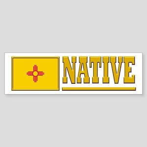 New Mexico Native Bumpersticker