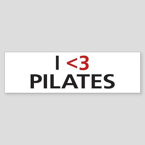 I <3 Pilates Sticker (Bumper)