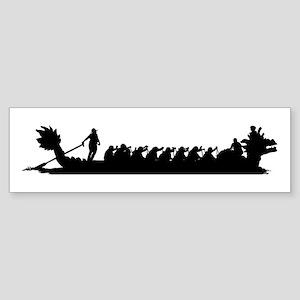 Dragon Boat Bumper Sticker