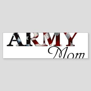 Army Mom (Flag) Sticker (Bumper)