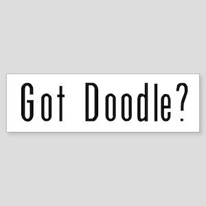 Got Doodle? Bumper Sticker