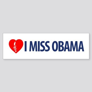 I Miss Obama Bumper Sticker