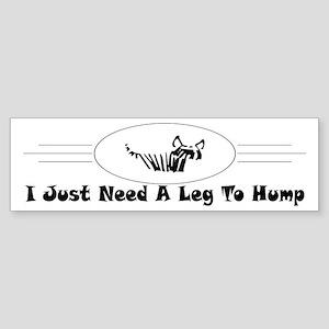 Hump Bumper Sticker