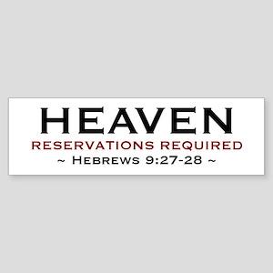 Heaven - Bumper Sticker