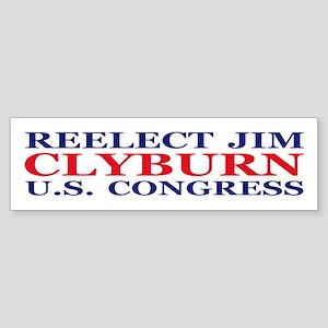 Reelect Clyburn Bumper Sticker