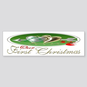 First Christmas 2005 Bumper Sticker
