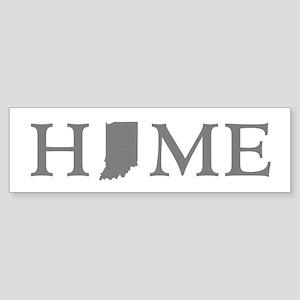 Indiana Home Sticker (Bumper)