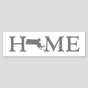 Massachusetts Home Sticker (Bumper)