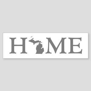 Michigan Home Sticker (Bumper)