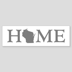 Wisconsin Home Sticker (Bumper)