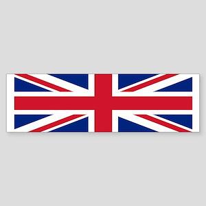 Bumper Sticker with British Flag.