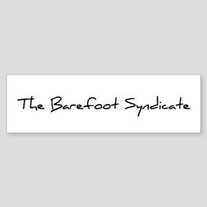 The Barefoot Syndicate Sticker - Black