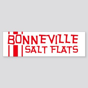 Retro Bonneville Salt Flats-R Bumper Sticker