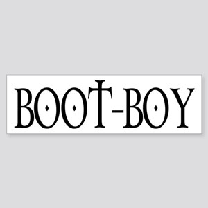 Boot Boy Bumper Sticker