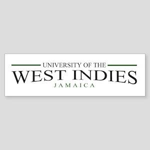 University of the W.I. bumper sticker