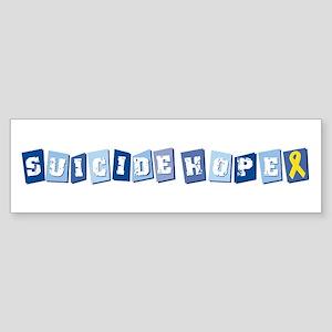Suicide Hope Bumper Sticker