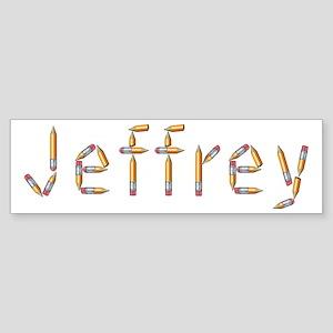 Jeffrey Pencils Bumper Sticker