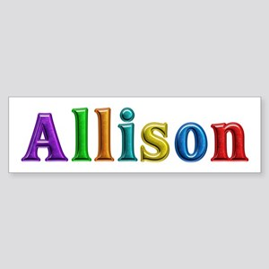 Allison Shiny Colors Bumper Sticker