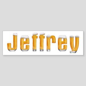 Jeffrey Beer Bumper Sticker