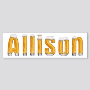 Allison Beer Bumper Sticker