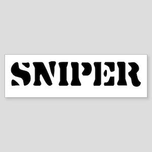Sniper Bumper Sticker