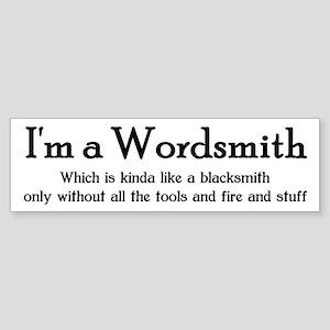 Wordsmith Bumper Sticker