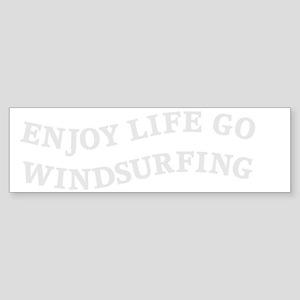 windsurfingW Sticker (Bumper)