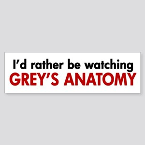 Grey's Anatomy Fan Sticker (Bumper)
