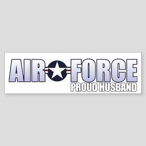 USAF Husband Sticker (Bumper)