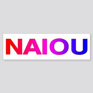 NAIOU Sticker (Bumper)
