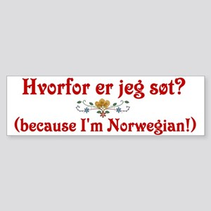 norwegian Bumper Sticker