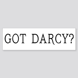 Got Darcy Jane Austen Sticker (Bumper)