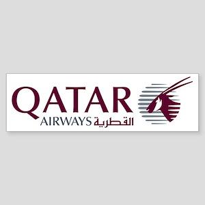 2000px-Qatar_Airways_Logo Sticker (Bumper)