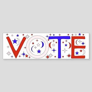 Get Out The Vote 2008 Bumper Sticker