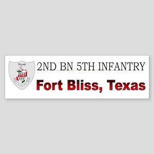 2nd Bn 5th Infantry Sticker (Bumper)