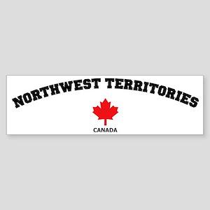 Northwest Territories Sticker (Bumper)