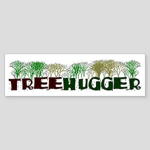TREEHUGGER Bumper Sticker
