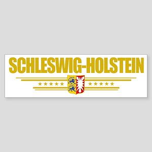 Schleswig-Holstein (Flag 10) pock Sticker (Bumper)