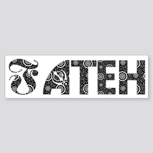 FATEH. Bumper Sticker