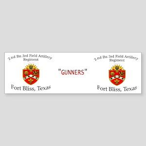 2nd Bn 3rd FA Mug Sticker (Bumper)