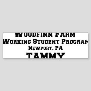 percheronu(woodfinnfarm-tammy) Sticker (Bumper)