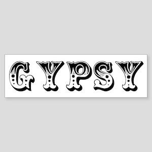 GYPSY Bumper Sticker