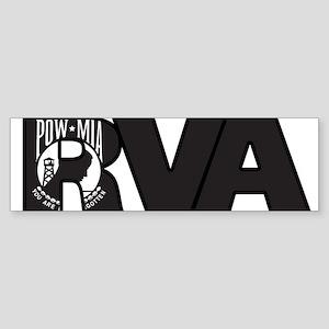 RVA POW MIA Bumper Sticker