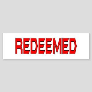 Redeemed Bumper Sticker