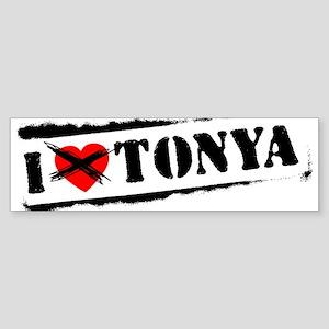 I Hate Tonya Bumper Sticker