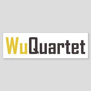 Wu Quartet Bumper Sticker